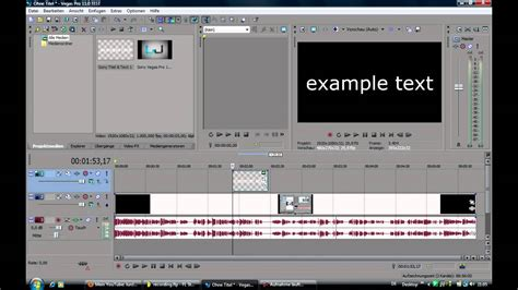 Sony Vegas Pro 11 - How to put Text over Video - Tutorial