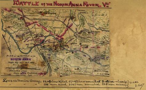 Civil War Maps, Available Online, North Anna River
