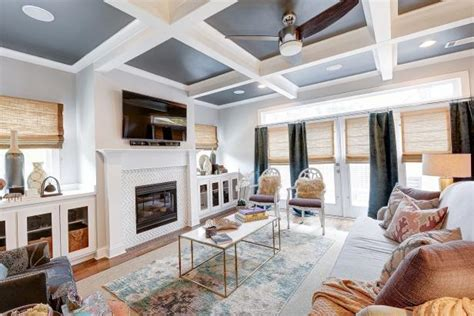 Coffered Ceilings and Blended Patterns are the Stars of