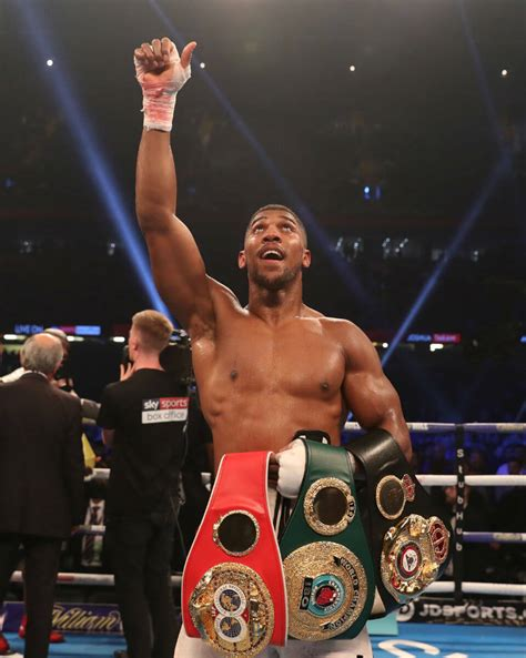 10 Anthony Joshua quotes that'll get you through the week