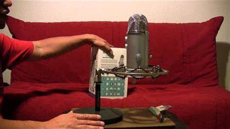 Blue Microphones Yeti USB Microphone review - YouTube