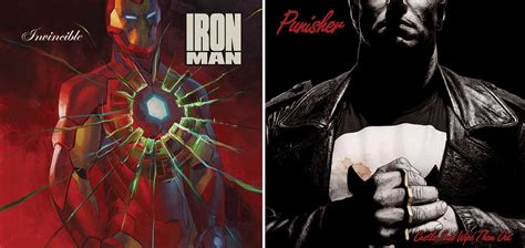 Marvel comic covers become very cool vinyl sleeves - News