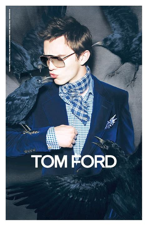 Nicholas Hoult for Tom Ford Fall 2010 Campaign | The
