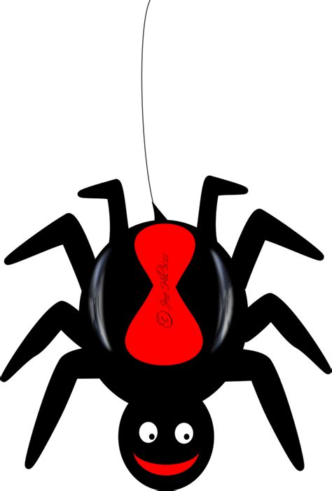 Spider Clipart - Clipartion