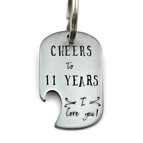 Celebrate with Traditional Stainless Steel for your 11