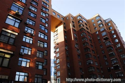 block of flats - photo/picture definition at Photo
