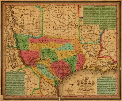 Map, Available Online, 1830 to 1839, Texas, General Maps